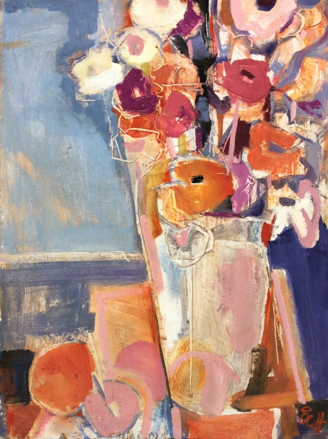 <span class=&#34;artist&#34;><strong>Emma Haggas</strong></span>, <span class=&#34;title&#34;><em>Flowers in an Ice Bucket</em></span>