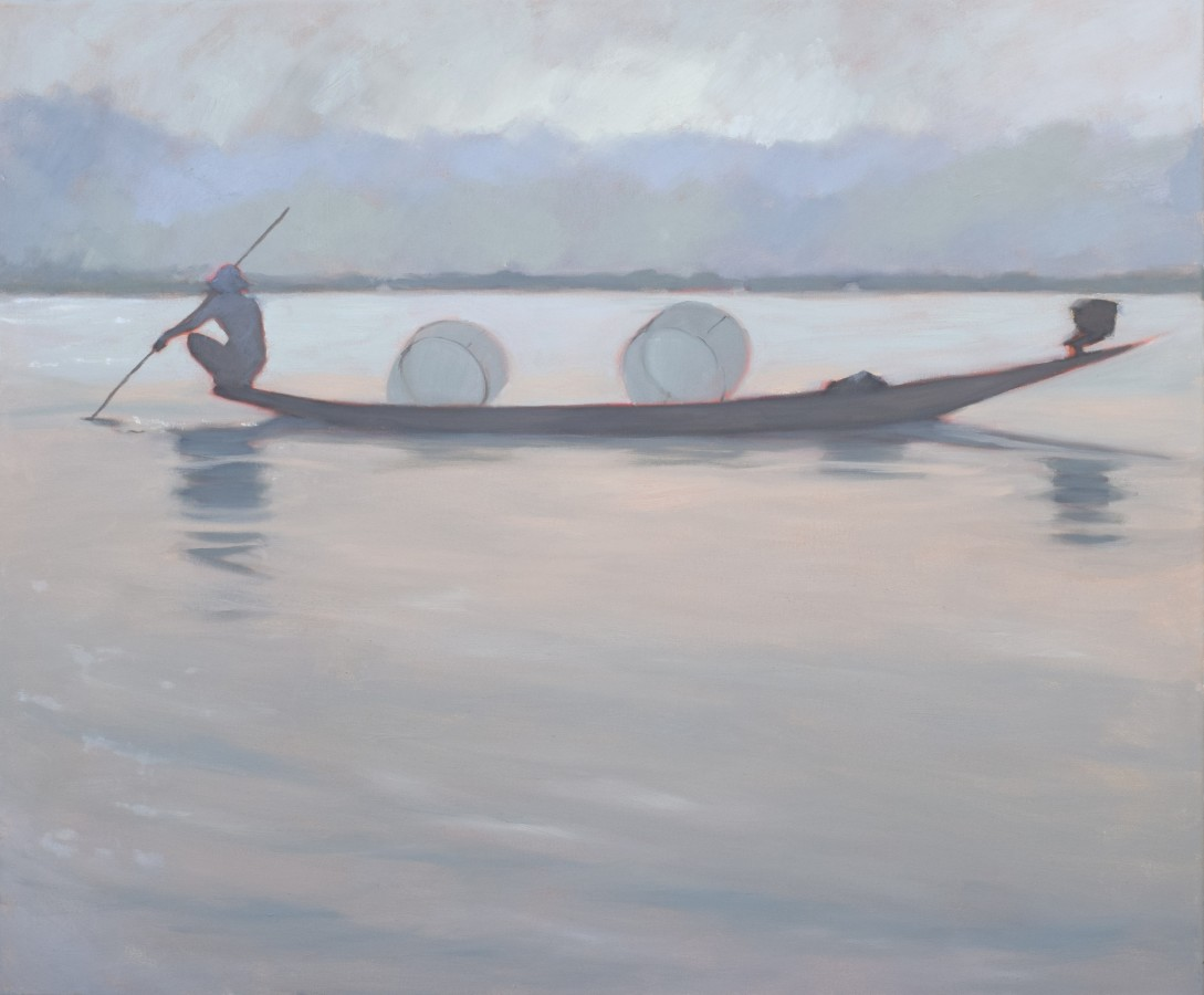 """<span class=""""artist""""><strong>Clare Granger</strong></span>, <span class=""""title""""><em>Quiet on the Lake</em></span>"""