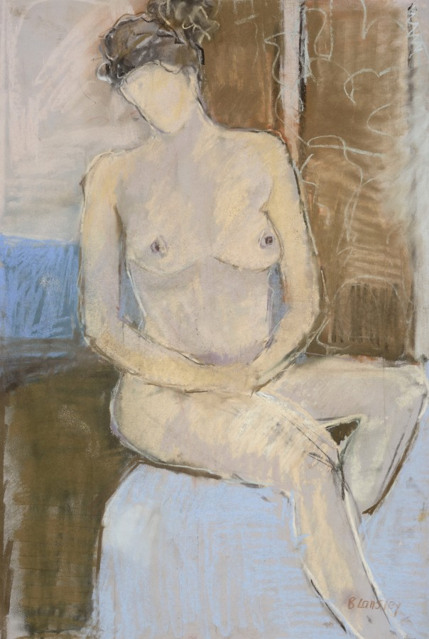 <span class=&#34;artist&#34;><strong>Bridget Lansley</strong></span>, <span class=&#34;title&#34;><em>Reflection I</em></span>
