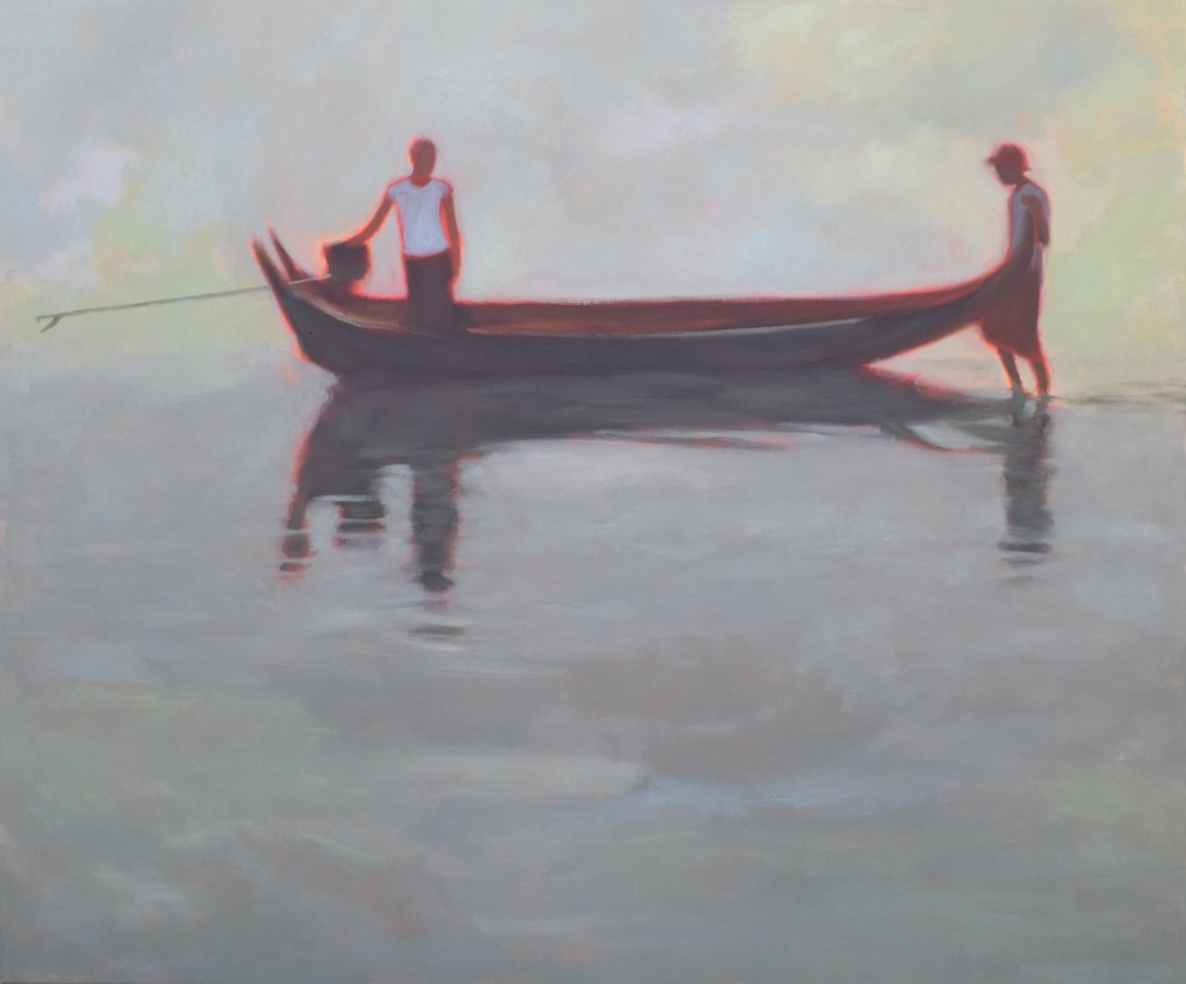 """<span class=""""artist""""><strong>Clare Granger</strong></span>, <span class=""""title""""><em>Morning Outing</em></span>"""