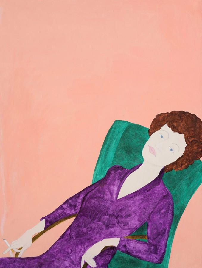 "<span class=""artist""><strong>Kate Boxer</strong></span>, <span class=""title""><em>Muriel Spark</em></span>"