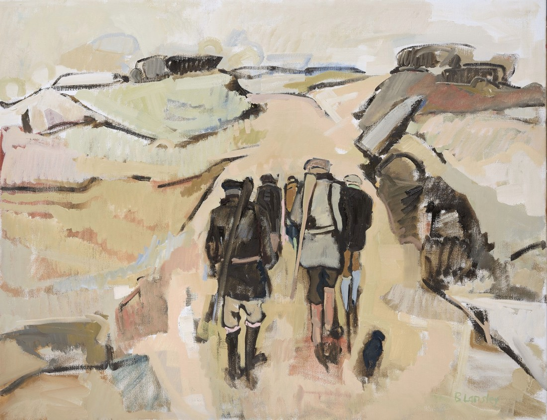 <span class=&#34;artist&#34;><strong>Bridget Lansley</strong></span>, <span class=&#34;title&#34;><em>The Start of the Season</em></span>