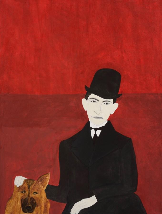 "<span class=""artist""><strong>Kate Boxer</strong></span>, <span class=""title""><em>Franz Kafka</em></span>"