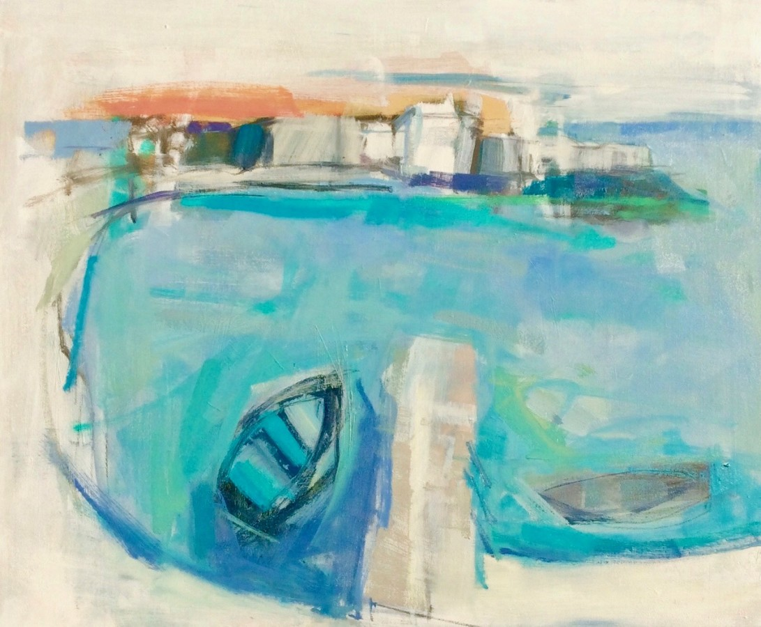 <span class=&#34;artist&#34;><strong>Kathy Montgomery</strong></span>, <span class=&#34;title&#34;><em>Island Harbour</em></span>