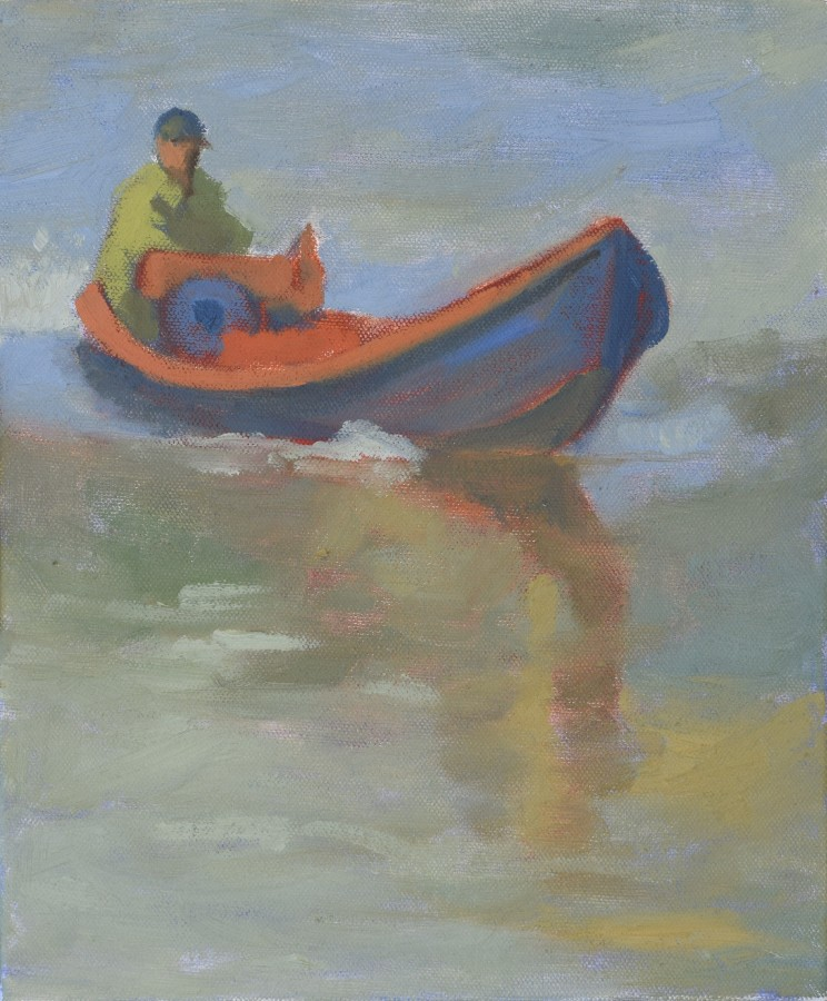 """<span class=""""artist""""><strong>Clare Granger</strong></span>, <span class=""""title""""><em>Boating</em></span>"""