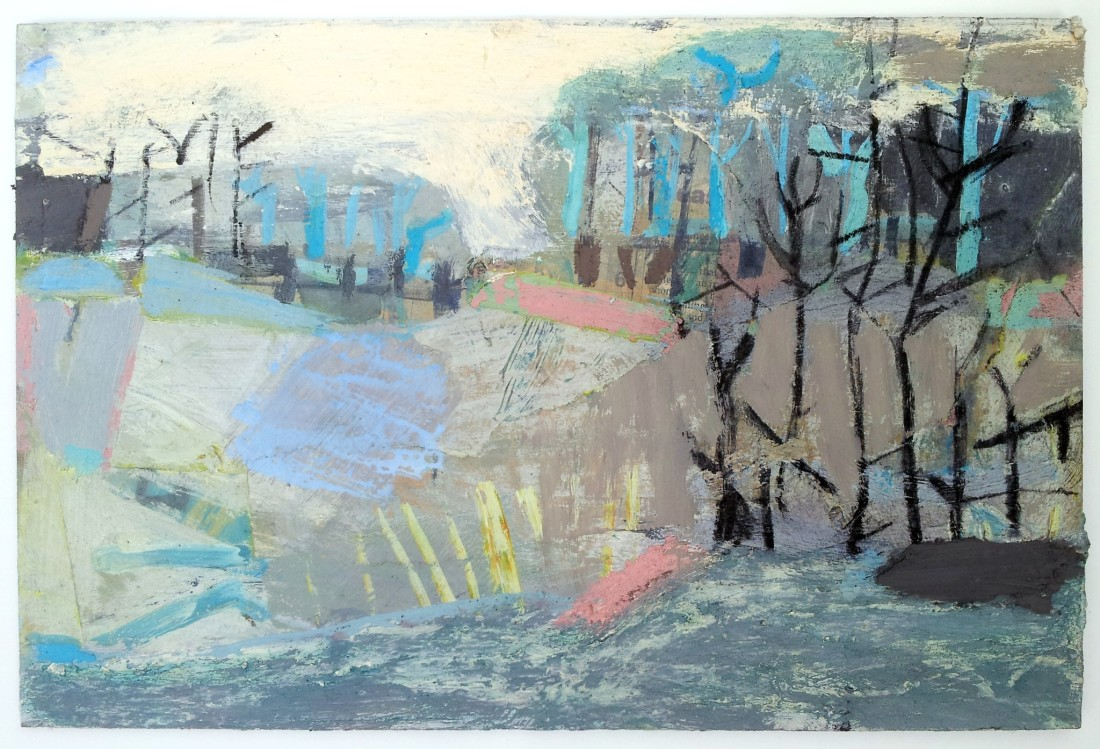 """<span class=""""artist""""><strong>Liz Hough</strong></span>, <span class=""""title""""><em>River Walk</em></span>"""