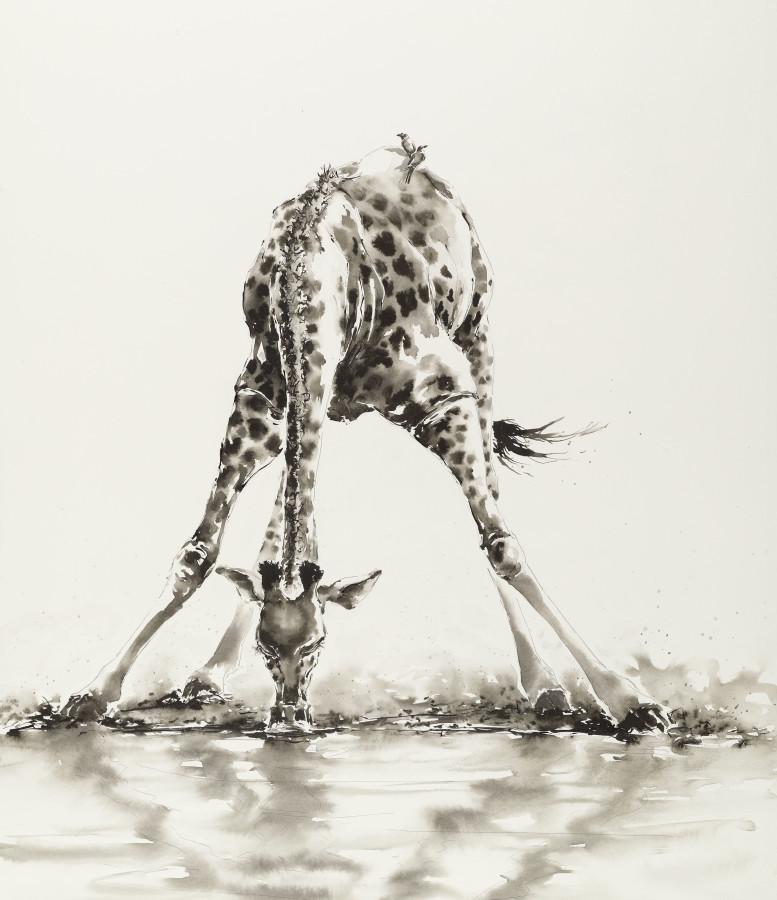 """<span class=""""artist""""><strong>Julia Cassels</strong></span>, <span class=""""title""""><em>Giraffe</em></span>"""