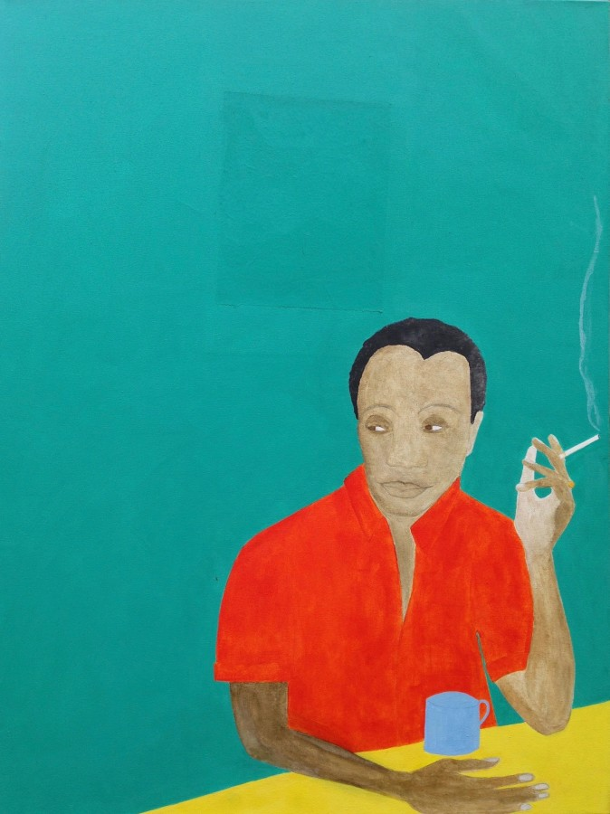 <span class=&#34;artist&#34;><strong>Kate Boxer</strong></span>, <span class=&#34;title&#34;><em>James Baldwin</em></span>
