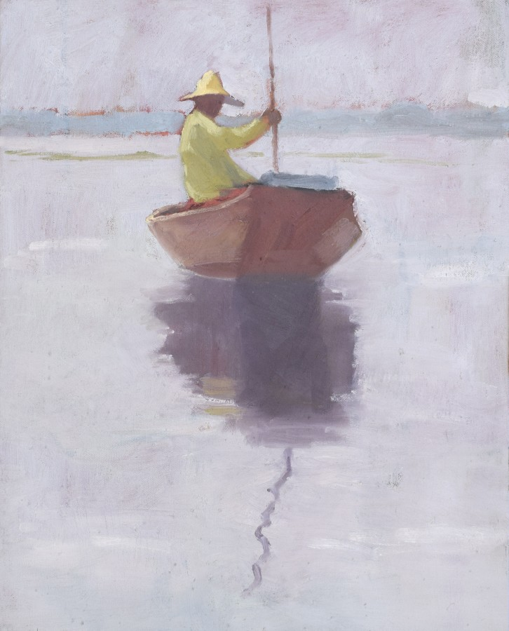 """<span class=""""artist""""><strong>Clare Granger</strong></span>, <span class=""""title""""><em>Crossing the Water</em></span>"""