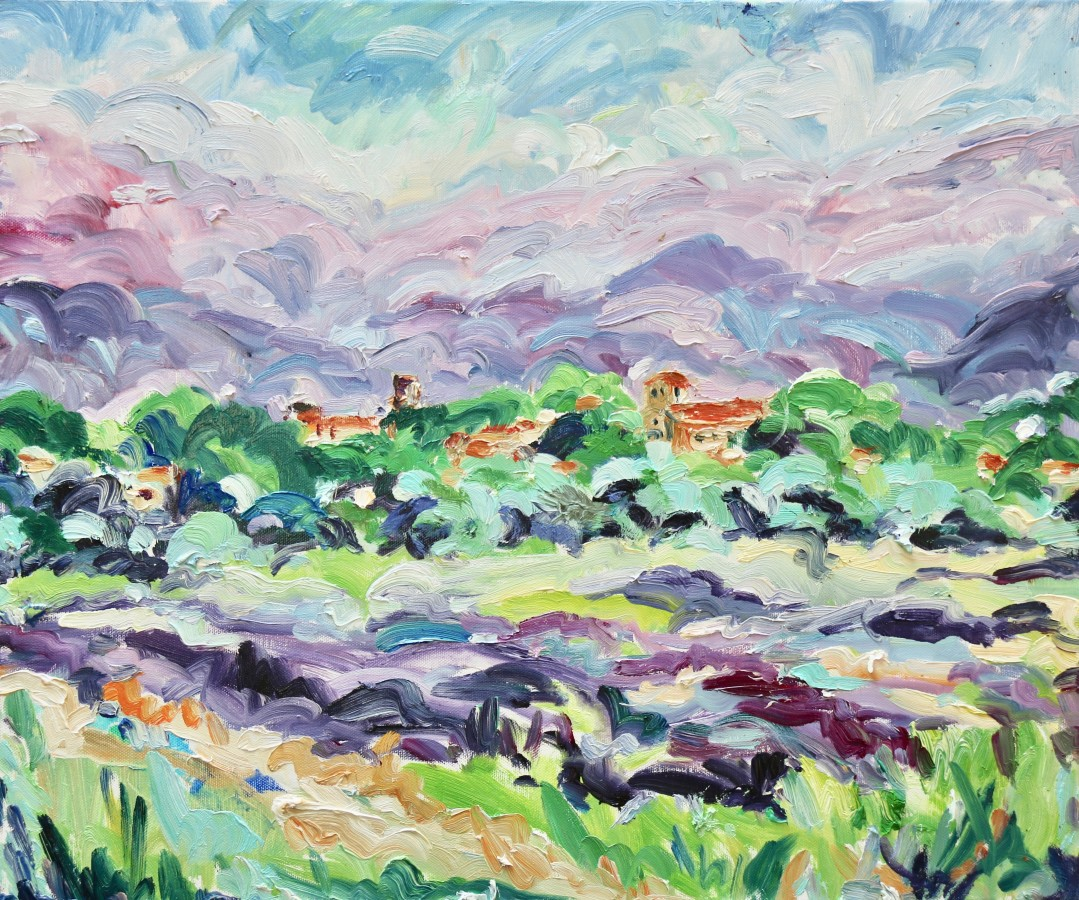"<span class=""artist""><strong>Fi Katzler</strong></span>, <span class=""title""><em>Cuceron Lavender (London Gallery)</em></span>"