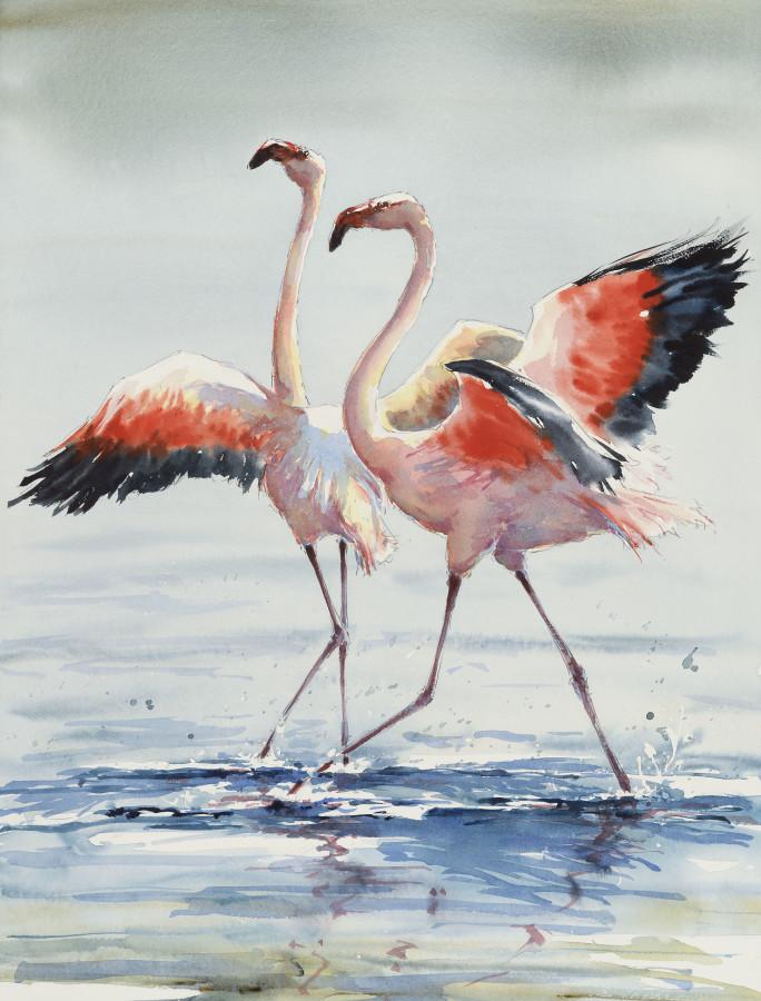 """<span class=""""artist""""><strong>Julia Cassels</strong></span>, <span class=""""title""""><em>Open Wings</em></span>"""