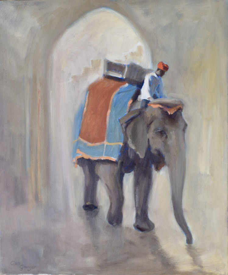 <span class=&#34;artist&#34;><strong>Clare Granger</strong></span>, <span class=&#34;title&#34;><em>Indian Elephant</em></span>