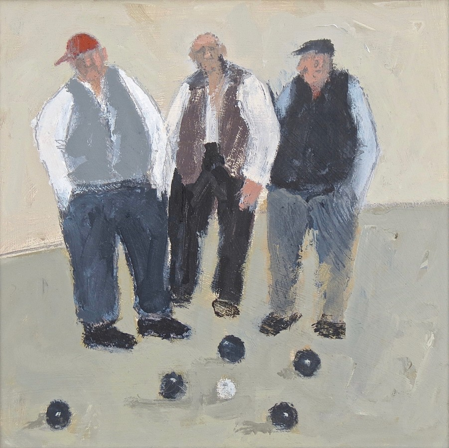 <span class=&#34;artist&#34;><strong>Malcolm Taylor</strong></span>, <span class=&#34;title&#34;><em>Bowlers</em></span>