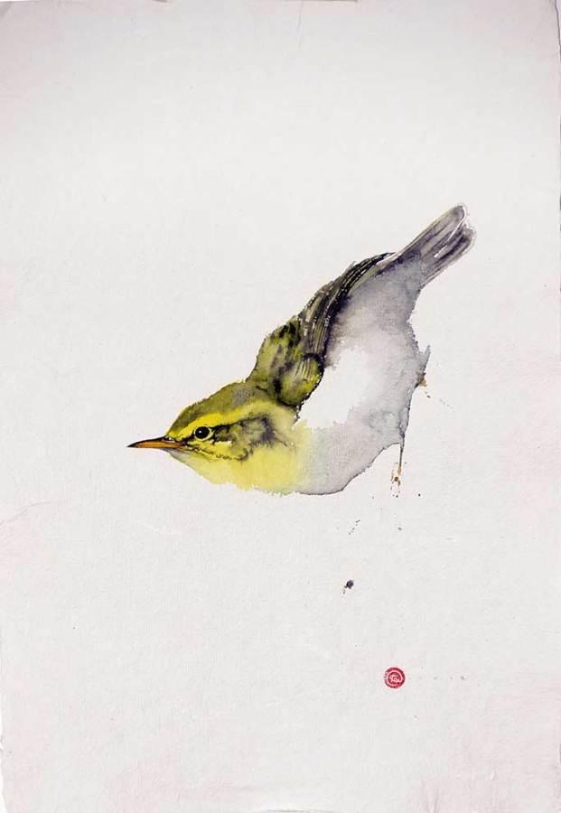 """<span class=""""artist""""><strong>Karl Martens</strong></span>, <span class=""""title""""><em>Wood Warbler</em></span>"""