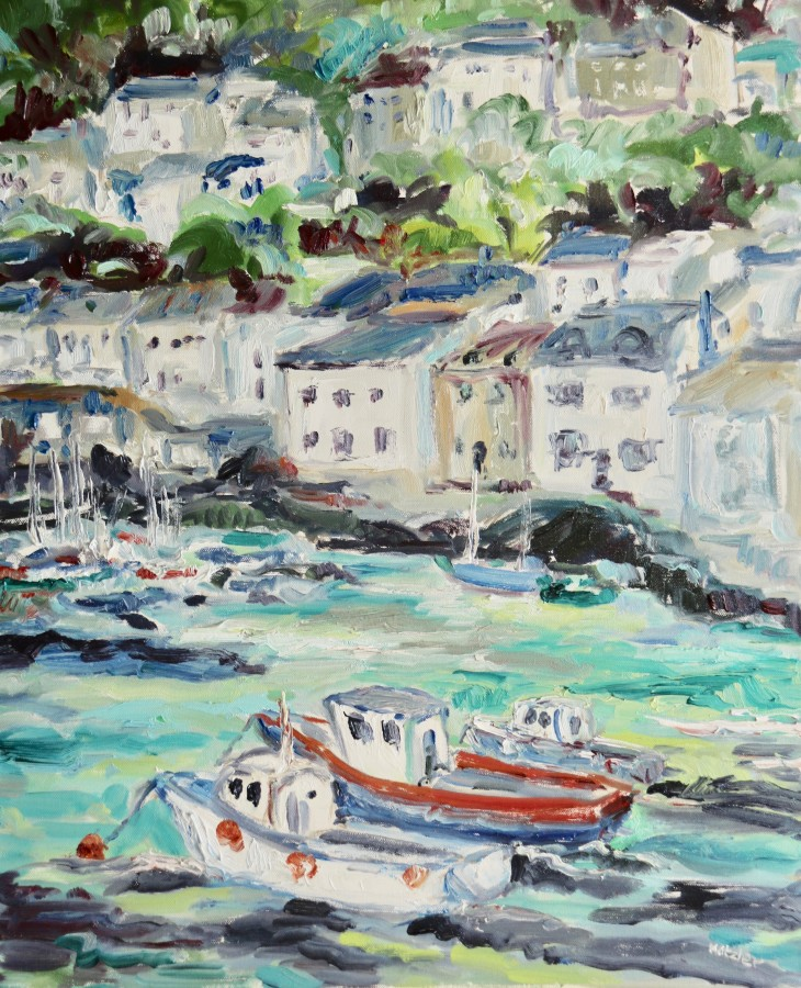<span class=&#34;artist&#34;><strong>Fi Katzler</strong></span>, <span class=&#34;title&#34;><em>Polperro (London Gallery)</em></span>