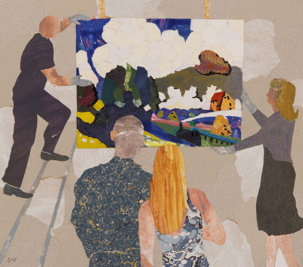 "<span class=""artist""><strong>Dione Verulam</strong></span>, <span class=""title""><em>Potential Buyers, Kandinsky</em></span>"