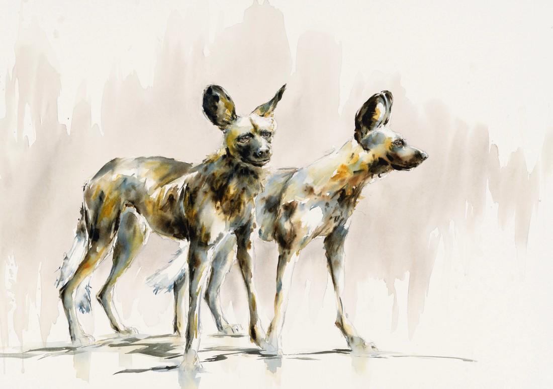 """<span class=""""artist""""><strong>Julia Cassels</strong></span>, <span class=""""title""""><em>Wild Dogs I</em></span>"""