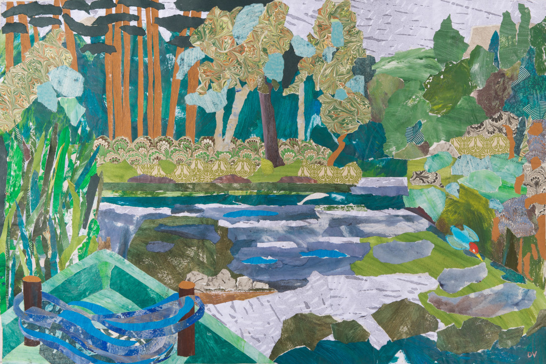 <span class=&#34;artist&#34;><strong>Dione Verulam</strong></span>, <span class=&#34;title&#34;><em>Resting on the River</em></span>