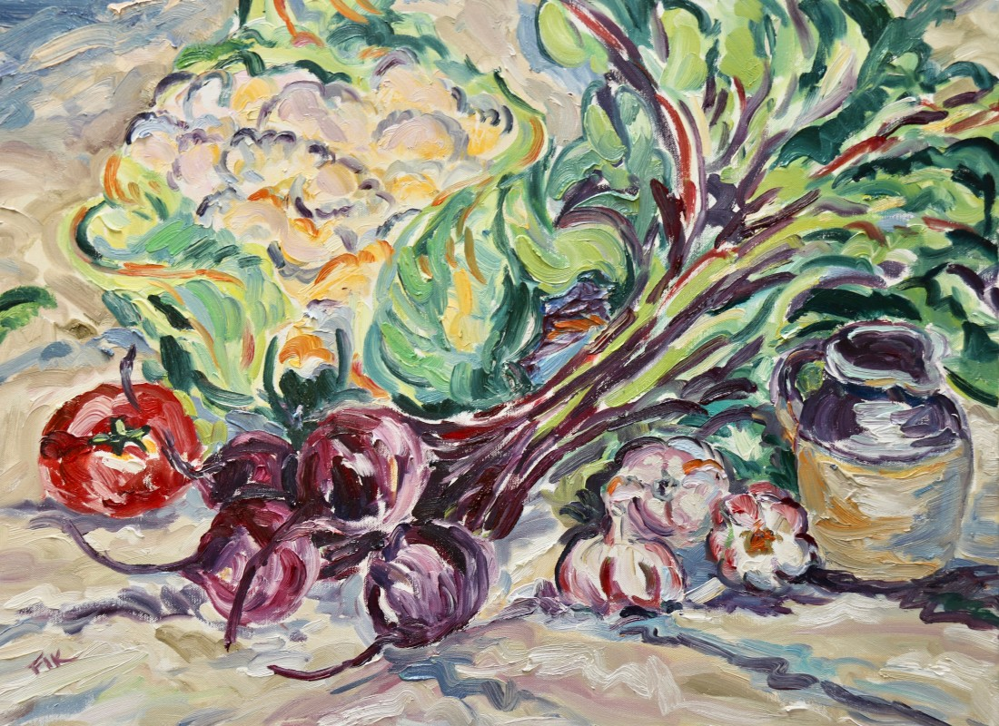 "<span class=""artist""><strong>Fi Katzler</strong></span>, <span class=""title""><em>Autumn Harvest (London Gallery)</em></span>"