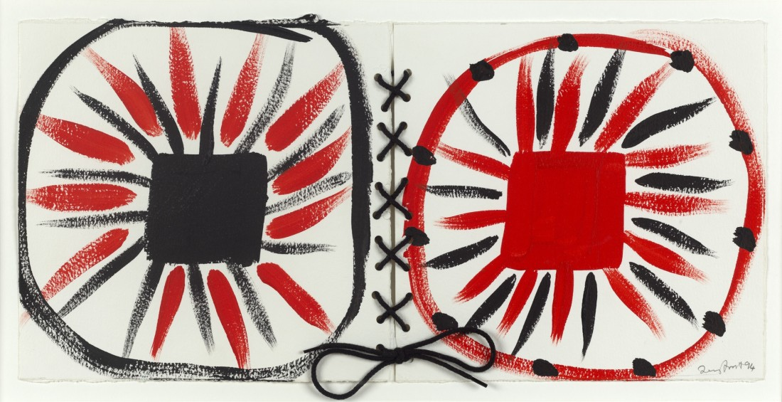 <span class=&#34;artist&#34;><strong>Sir Terry Frost (1915 - 2003)</strong></span>, <span class=&#34;title&#34;><em>Laced Red and Black 1994</em></span>