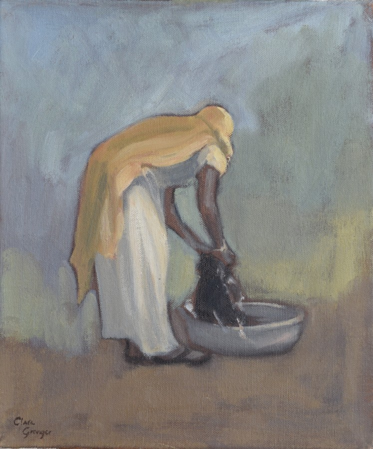 """<span class=""""artist""""><strong>Clare Granger</strong></span>, <span class=""""title""""><em>The Wash Tub</em></span>"""
