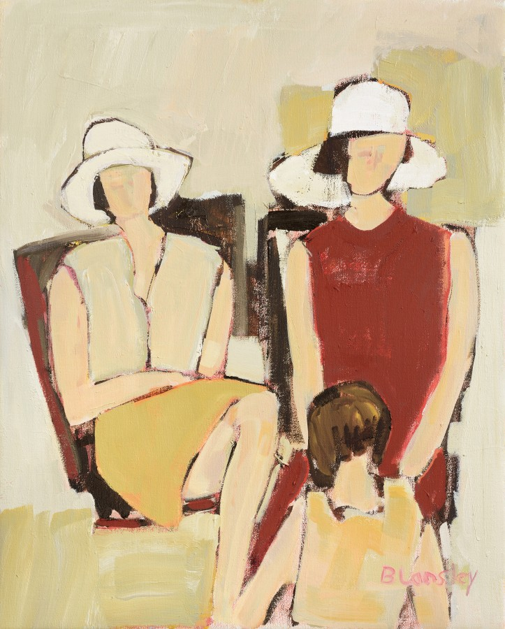 <span class=&#34;artist&#34;><strong>Bridget Lansley</strong></span>, <span class=&#34;title&#34;><em>On the Beach</em></span>
