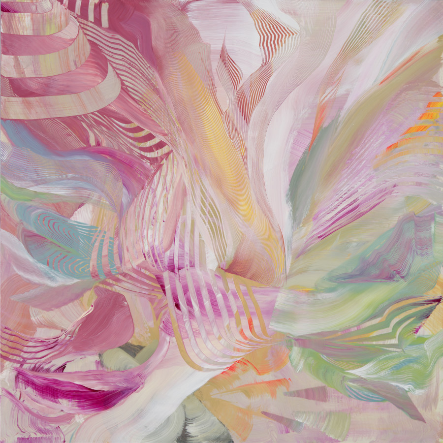 Lorene Anderson, Swirl and Roil , 2017