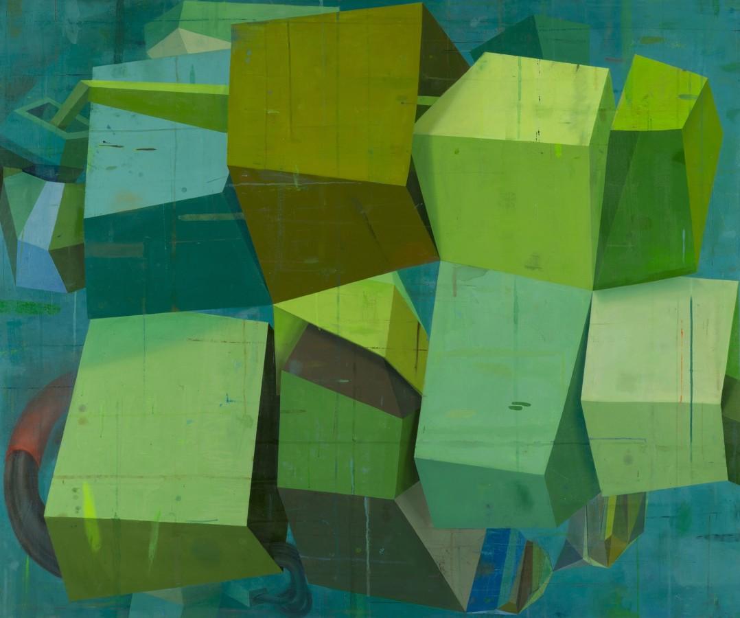 Deborah Zlotsky Mermaid thoughts, 2014 oil on canvas 60 x 72 in