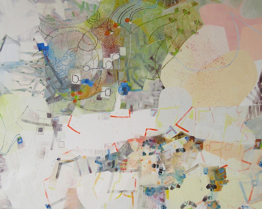 Josette Urso  Lulu, 2015  oil on canvas  48 x 60 in