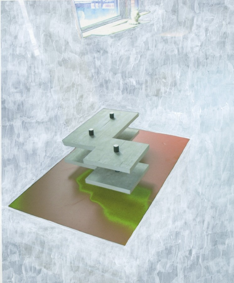 Peter Dudek, White-out (b), 2015