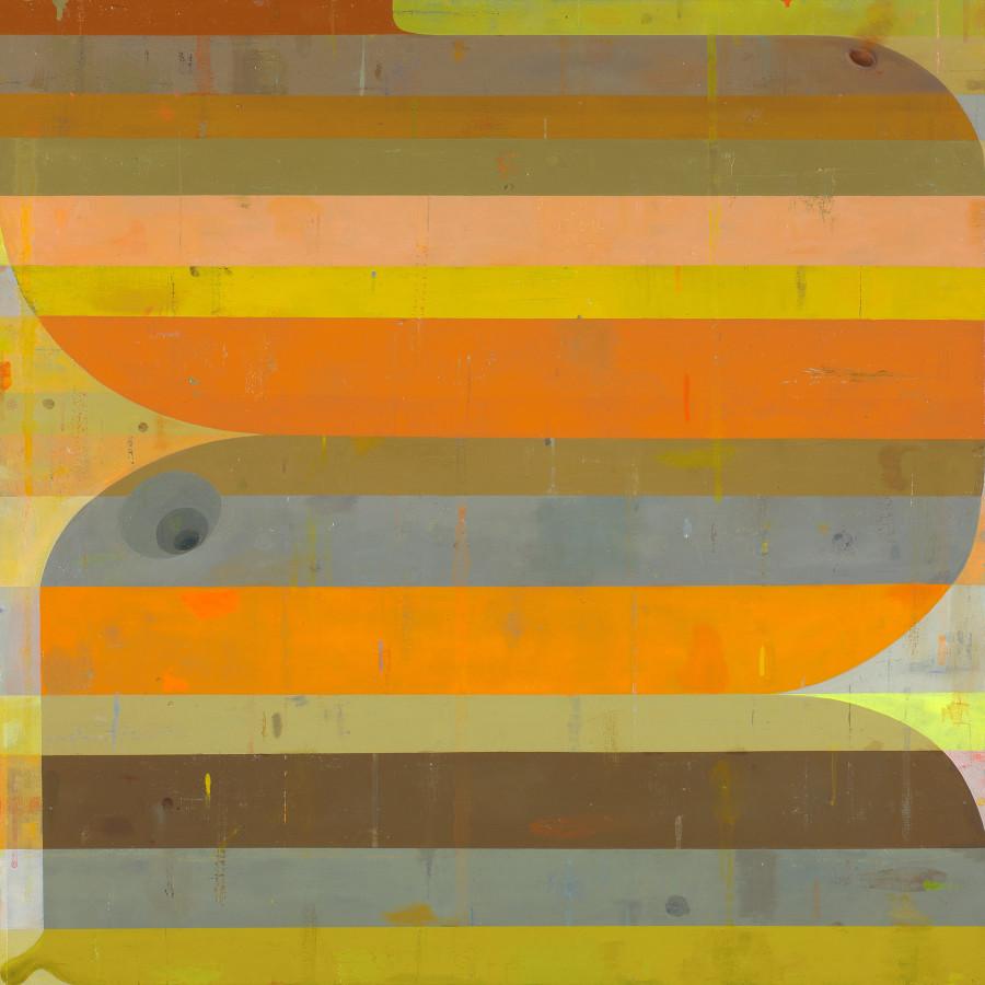 Deborah Zlotsky, The convergence of the twain, 2017