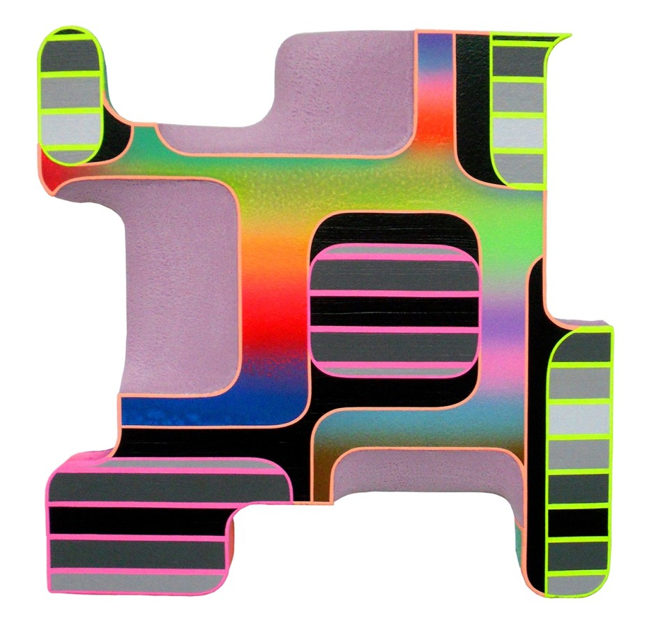Rory MacArthur Presence, 2013 acrylic on styrofoam 24 x 24 x 4 in.