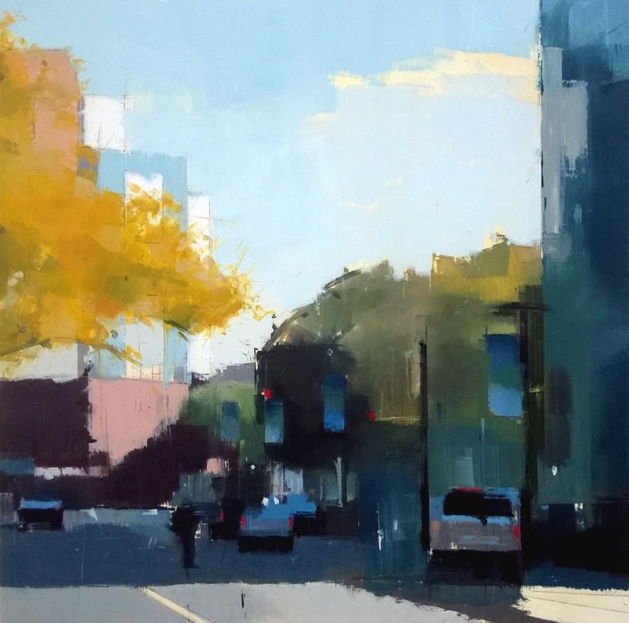 Lisa Breslow, Fall Shadows, 2016