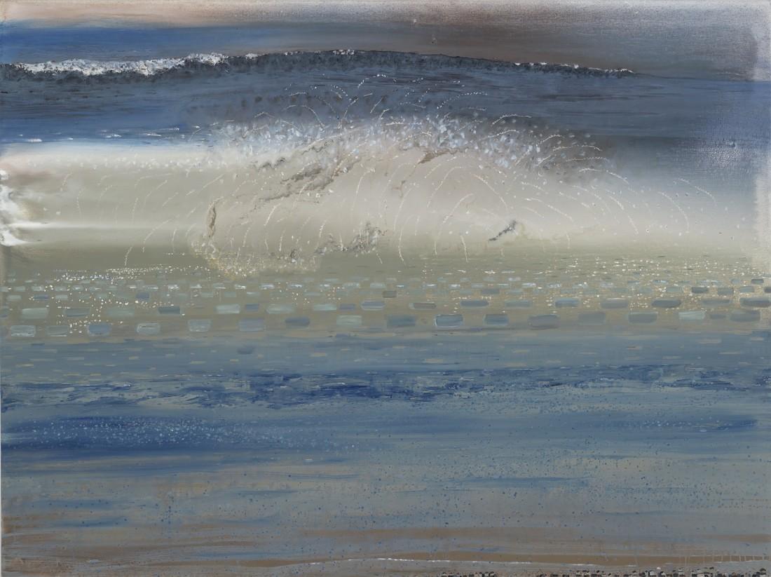 Anne Neely Splash, 2014 oil on linen 60 x 80 in.