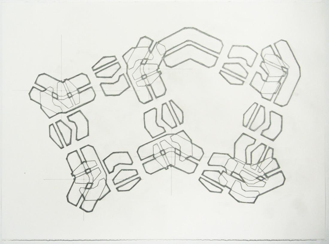 Noah Loesberg, Tire Tread #6, 2011