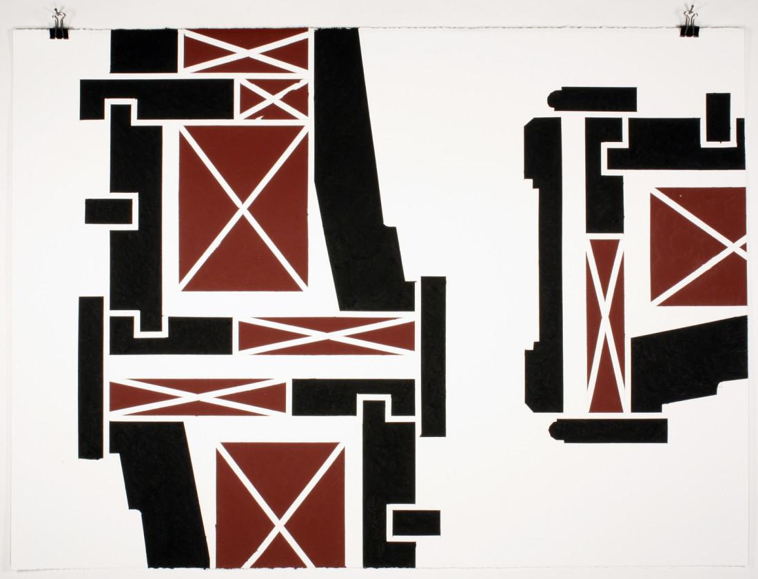 Noah Loesberg, Window Jamb Section #5, 2009