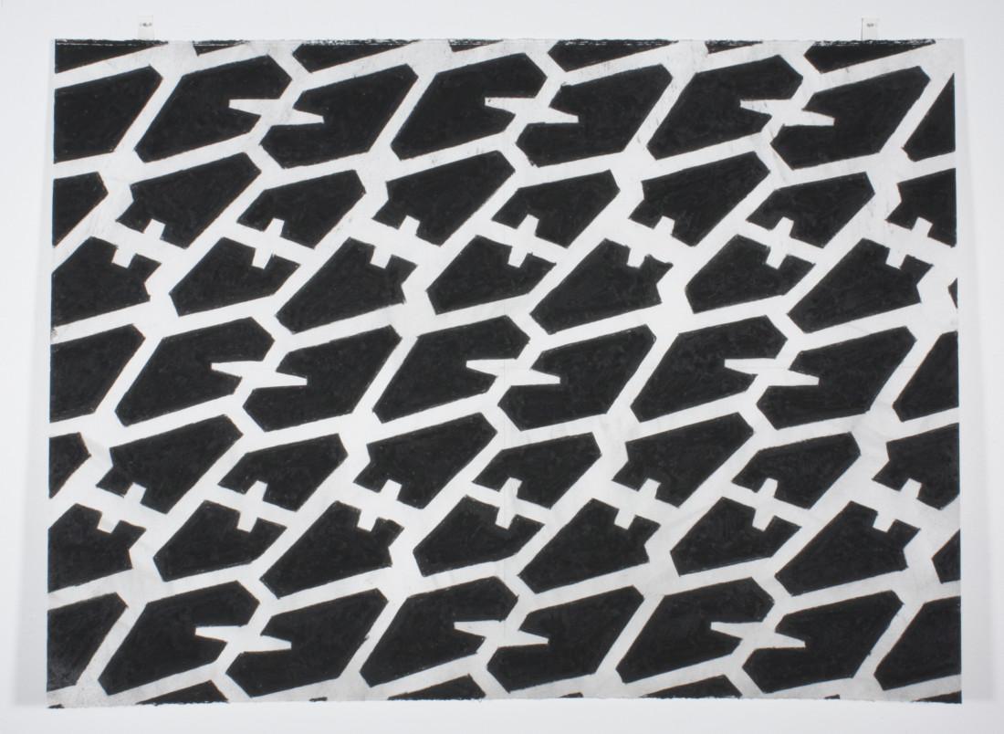 Noah Loesberg, Tire Tread #3, 2011