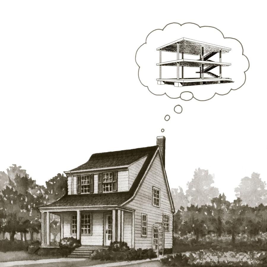 Peter Dudek, House Dreaming, 2015