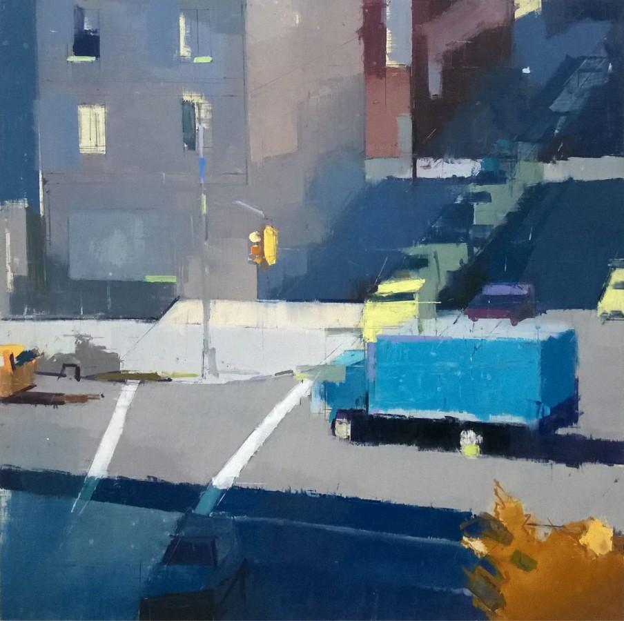 Lisa Breslow, Blue Truck, 2016