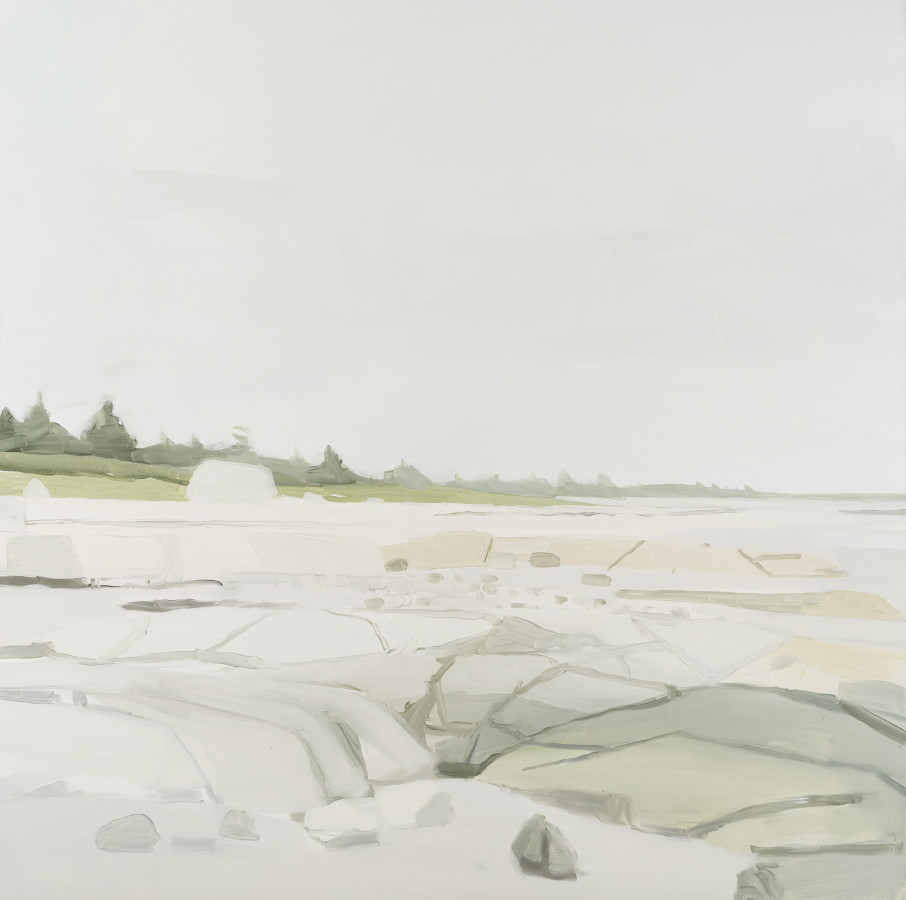 Sara MacCulloch, Beach and Rocks, 2016