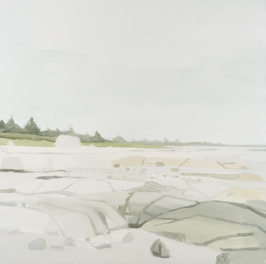 Sara MacCulloch, Beach and Rocks, 2016