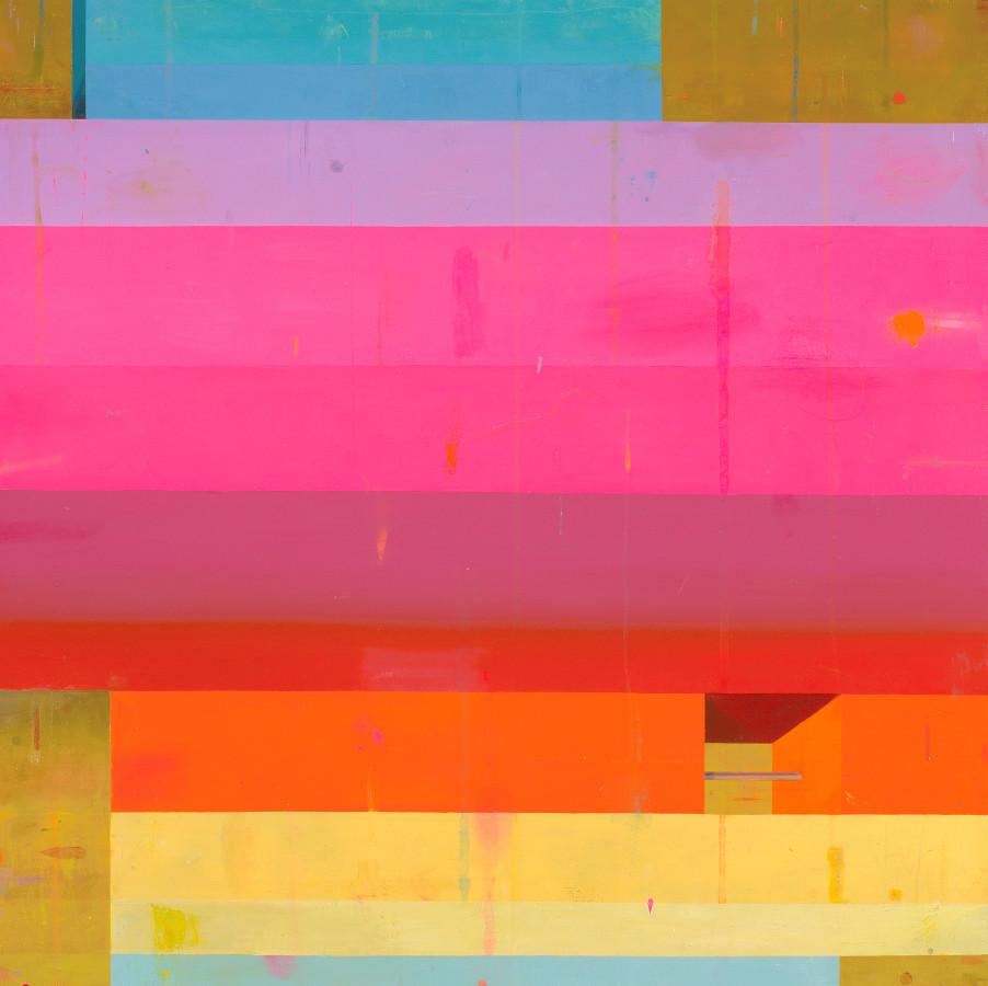 Deborah Zlotsky, Brutalist Rainbow, 2017