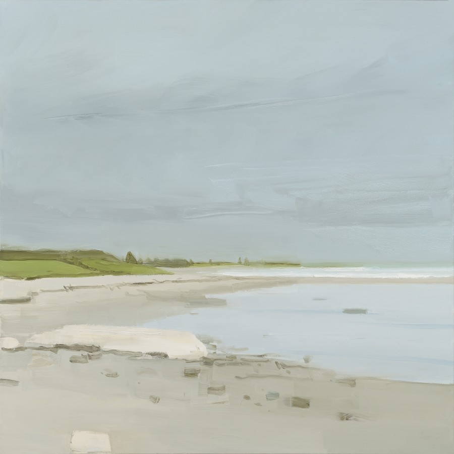 Sara MacCulloch, Beach on Cloudy Day, 2015