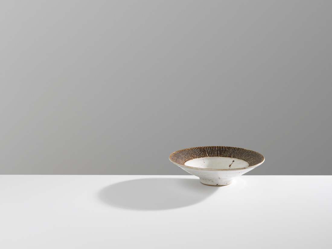 Lucie Rie, Open Bowl with Sgraffito, c1950