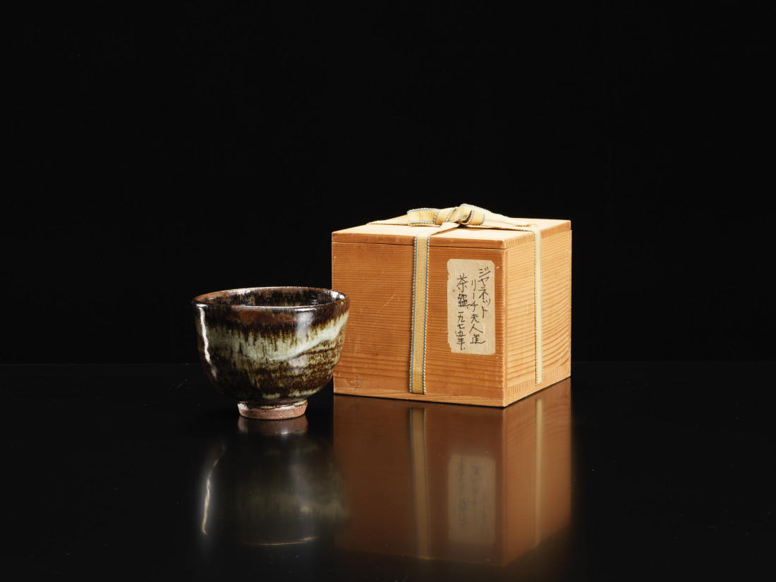 Janet Leach, Rare Teabowl exhibited in Japan