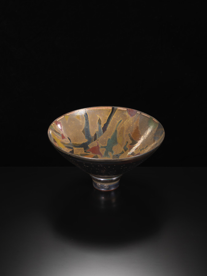 Sutton Taylor, Early Large Golden Bowl, c1980s