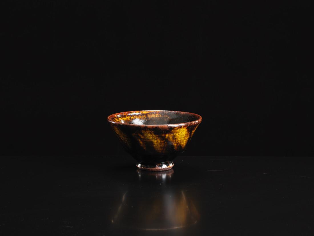Funaki Kenji, Iron Glaze Tea Bowl