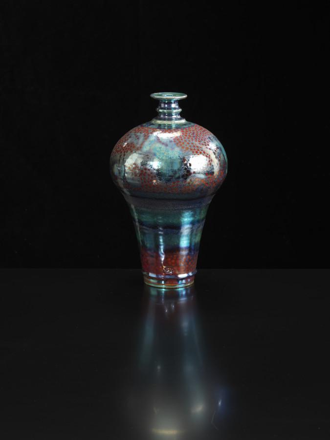 Sutton Taylor, Bottle, Red Spots, 2018
