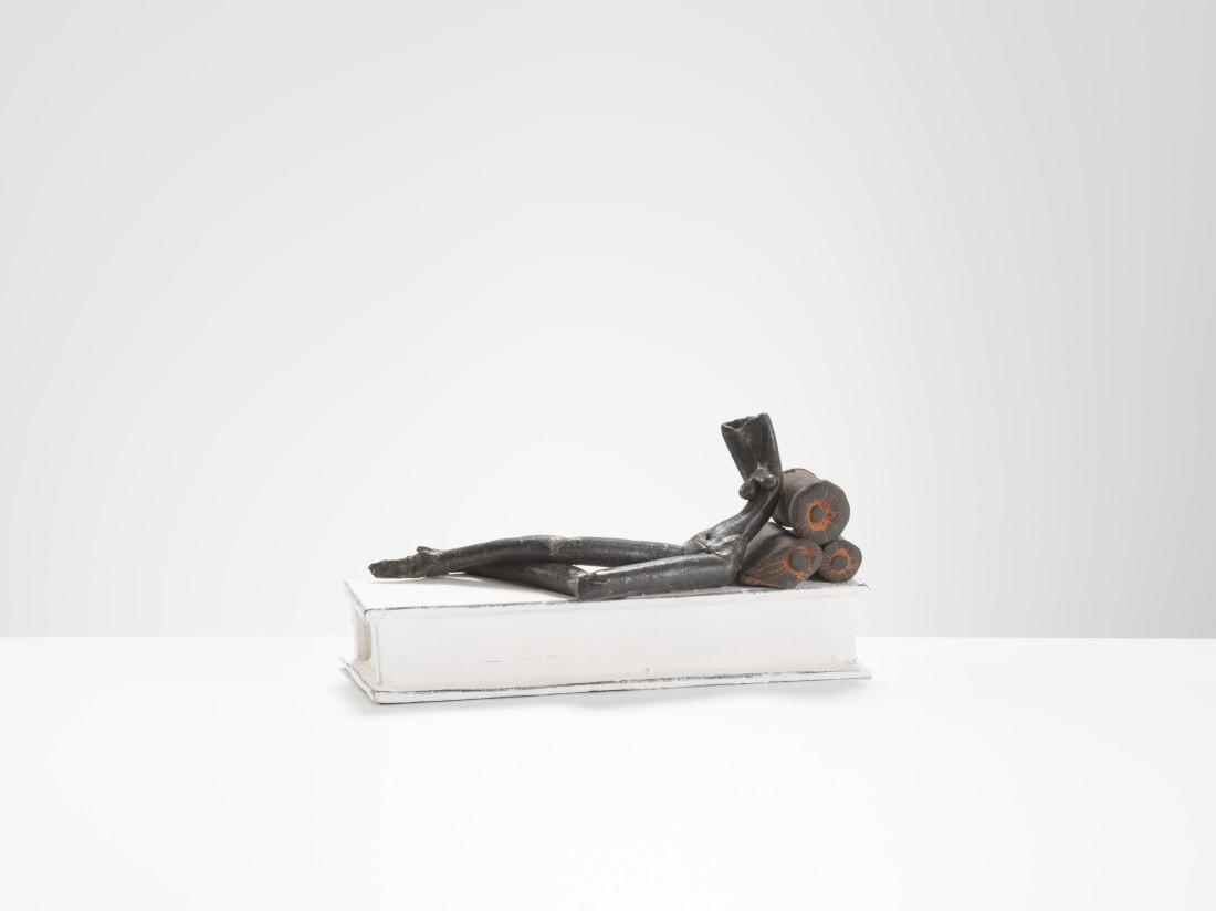 Mo Jupp, Black Reclining Figure