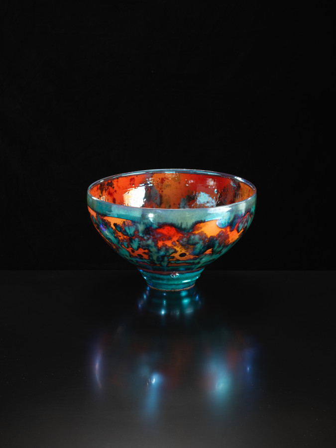 Sutton Taylor, Large Vermillion Bowl, 2018